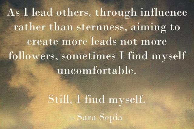 Still, I find myself.