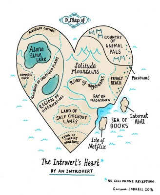 introvert heart by gemma correll